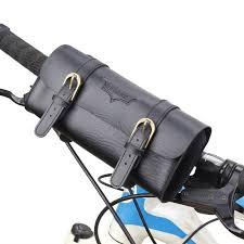 Bicycle Bags & Panniers Vintage Tail Bag <b>Bicycle Saddle Bag</b> PU ...