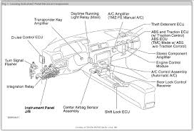2001 toyota camry fuse box how do you replace a 100 amp attached images
