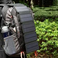 <b>Solar Charging Panel Removable</b> Folding Mobile Phone Charger ...