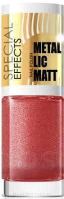 <b>Лак для ногтей</b> - Eveline Cosmetics Special Effects <b>Metallic</b> Matt ...