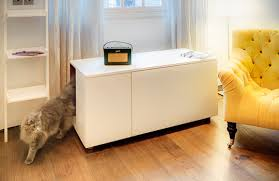 view in gallery the catteux litter box cabinet cat litter box covers furniture