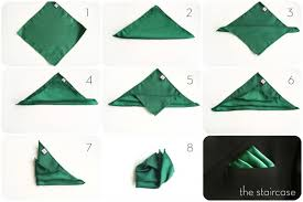 Image result for how to fold a pocket square