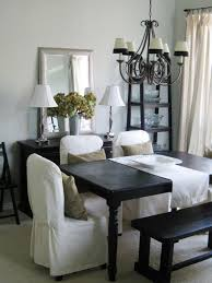 Linen Dining Room Chair Slipcovers Spice Up Your Dining Room With Stylish Slipcovers Living Room