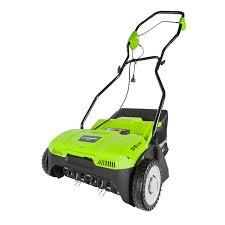 <b>Аэратор</b> электрический <b>Greenworks GDT35</b> 1100W купить по ...