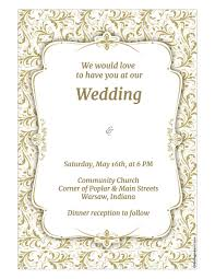 basic invitation template com wedding invitation template wiki
