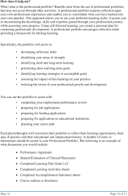 professional portfolio and learning plan guide pdf this approach allows you to use your preferred learning styles