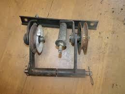 jacobsen tractor jacobsen gt14 hydro garden tractor mule drive idler arms springs bracket pulleys