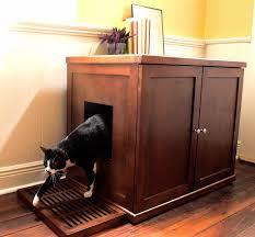 litter box hidden hide cat litter box furniture cozy dark pergo flooring with white baseboard and cat litter cabinet diy