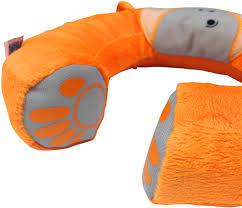 <b>Trunki Подголовник Yondi Mylo</b> цвет оранжевый