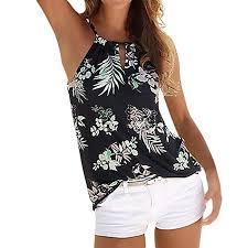 Pingtr Women <b>Sexy Halter</b> Neck <b>Summer</b> Strappy Beach Vest Tank ...