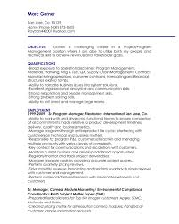 it manager resume objective best resume sample financial management resume objective template for for was regard to it manager resume