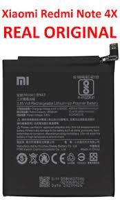 REAL <b>Original Xiaomi Redmi</b> Note 4x Battery 4100 mAh BN43 ...