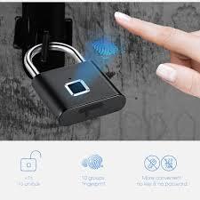 <b>Golden Security Keyless</b> USB Rechargeable Door Lock Fingerprint ...