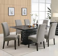 faux leather dining chair black:  large size of captivating white dining set white faux leather dining chairs black wooden laminate dining