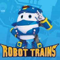 <b>Robot Trains</b> | Giochi per bambini | Cartoonito