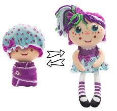Мягкая <b>игрушка 1 TOY</b> Девчушка-вывернушка Варюшка 38 см ...