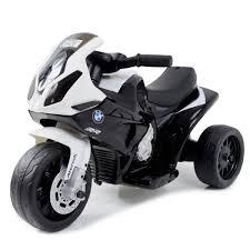Детский <b>электромотоцикл Jiajia BMW S1000RR</b> Black (трицикл ...