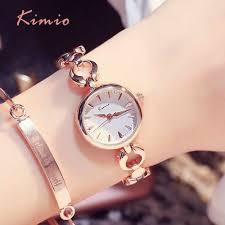 <b>KIMIO Simple</b> Gemini Rhinestones Ladies Watches Top Brand ...