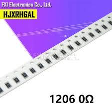 Online Shop 5000Pcs 1206 0R ~ 10M <b>SMD</b> resistor 1/2W 0 1 10 100 ...
