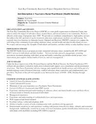 psychiatric nurse cover letter paralegal resume objective examples sample resume for psychiatric nurse practitioner nurse resume nurse practitioner job description sle psych resumes psychiatric