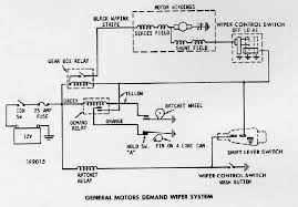 camaro wiring electrical information wiper motor 1973