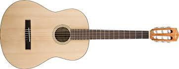 <b>Классическая гитара Fender ESC80</b> Natural 3/4, Фендер в Москве ...