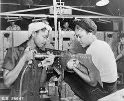Image result for second world war women working together in factories