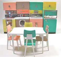 barbie kitchen set deluxe modern toy