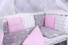 <b>Комплект</b> белья в <b>кроватку AmaroBaby</b> Мечта, серый, розовый ...
