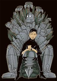 The Iron Giant Throne | The Iron Throne | Know Your Meme via Relatably.com