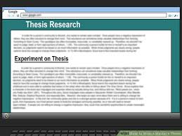 Image titled Write a Master     s Thesis Step   wikiHow