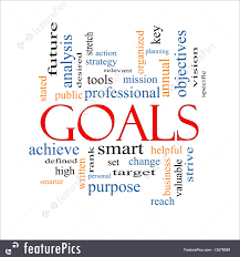 signs and info goals word cloud concept stock illustration goals word cloud concept
