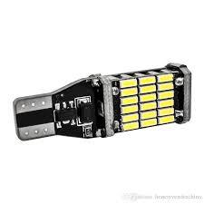 <b>10x</b> High Quality <b>T15 921</b> W16W 45 SMD 4014 LED Auto Additional ...