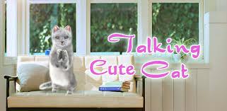 Talking <b>Cute Cat</b> - Apps on Google Play