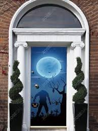 <b>Halloween Theme Gothic</b> 3D <b>Print</b> Home Decor Door Sticker | Door ...