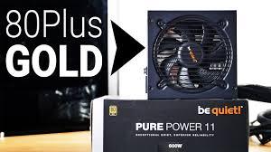 Обзор <b>блока питания be quiet</b>! Pure Power 11 600W (с 80Plus ...