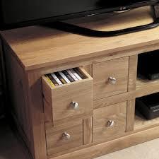 baumhaus mobel solid oak four drawer tv cabinet cor09a baumhaus mobel solid oak drawer