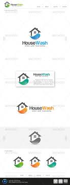 house cleaning logo by slidewerk graphicriver house cleaning logo buildings logo templates