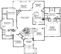 Split Floor Plan   House Design Ideas    http   checkout plan store com house plans