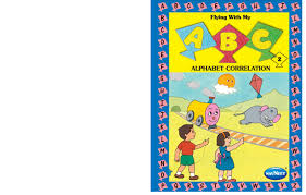 books by navneet publication vikas archives kids creative toys alphabet recognition a series of 2 books