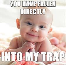 Felt like the new Gerber baby was just asking to be a meme... Evil ... via Relatably.com
