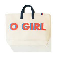 The <b>O GIRL</b> Tote - Canvas – KULE