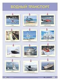 <b>Плакат Мозаика</b>-<b>Синтез</b> Водный транспорт — купить по ...