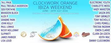 set your alarm for clockwork orange