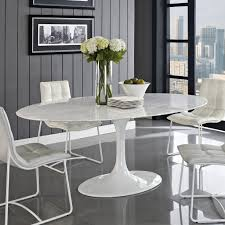 round white marble dining table: ikea oval dining table is also a kind of furniture oval white wooden dining table with black fabric chairs