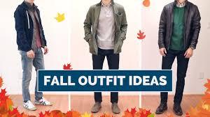 8 <b>Fall</b> Outfit Ideas for <b>Men</b> | <b>Casual Fall</b> Lookbook - YouTube