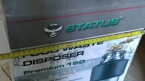 Обзор на <b>Измельчитель пищевых отходов STATUS</b> PREMIUM ...
