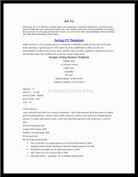 acting resume builder doc tk acting resume builder