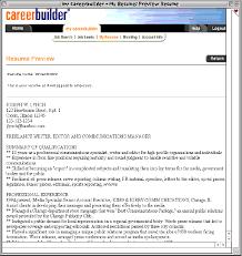 ways job boards handle resumes   recruitment advisorcareer builder example resume