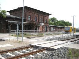 Hagenow Stadt station